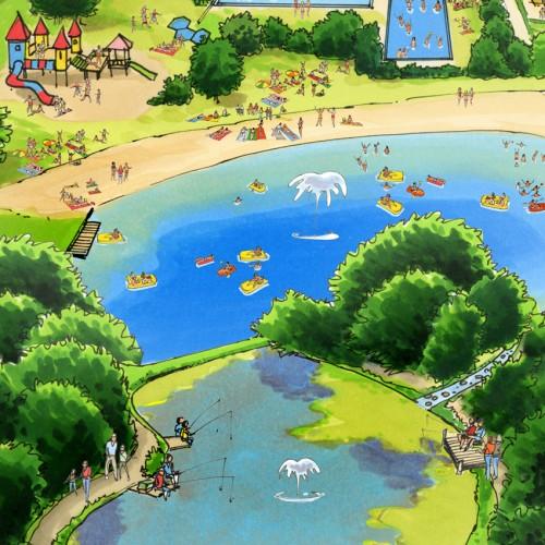 plattegrond Elfenmeer