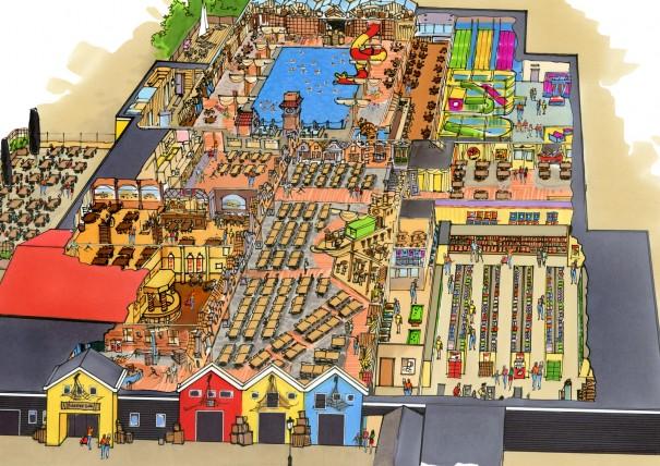 plattegrond plaza